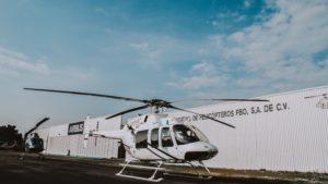helicoptero blanco
