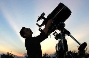 astronomo ritual estrella