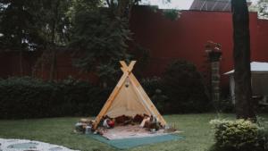 tipi locacion montaje picnic tepee