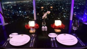 torre mayor cena locacion montaje
