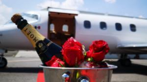 rosas en hielo jet moet