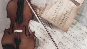 partitura violin musicos