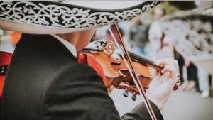 musico mariachi violin