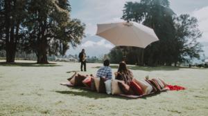 picnic musico helicoptero volcanes