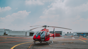 Helicoptero Rojo